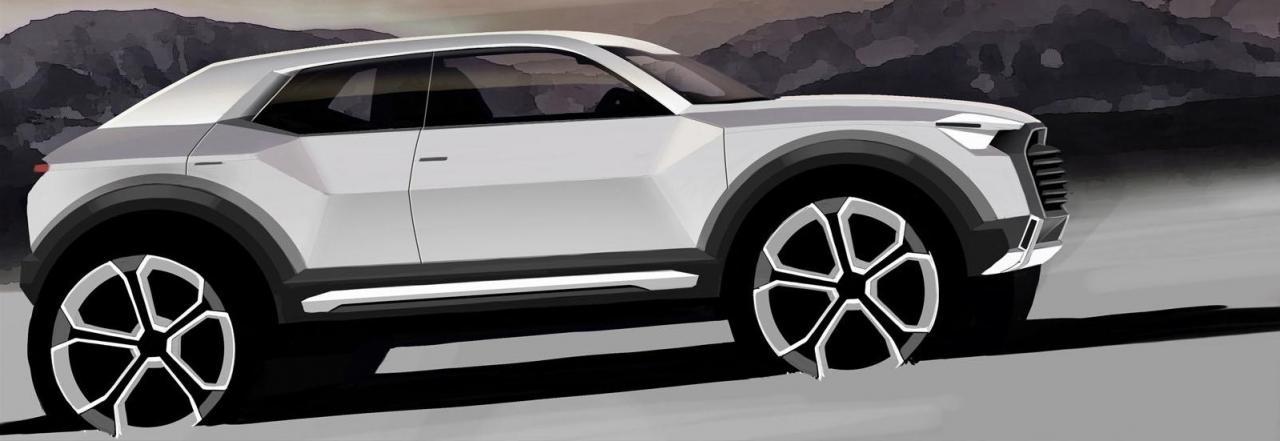 2016 Audi Q1 teaser
