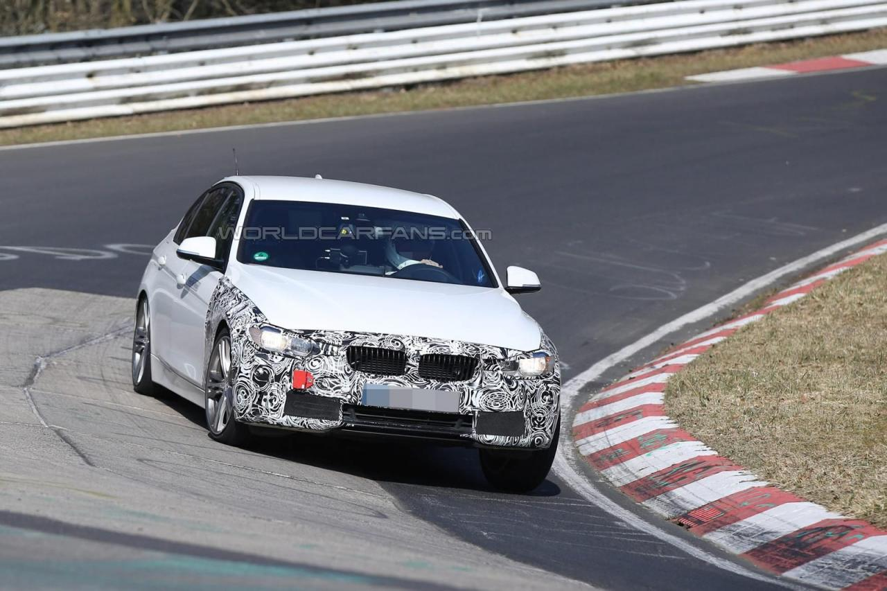 2016 BMW 3-series facelift plug-in hybrid