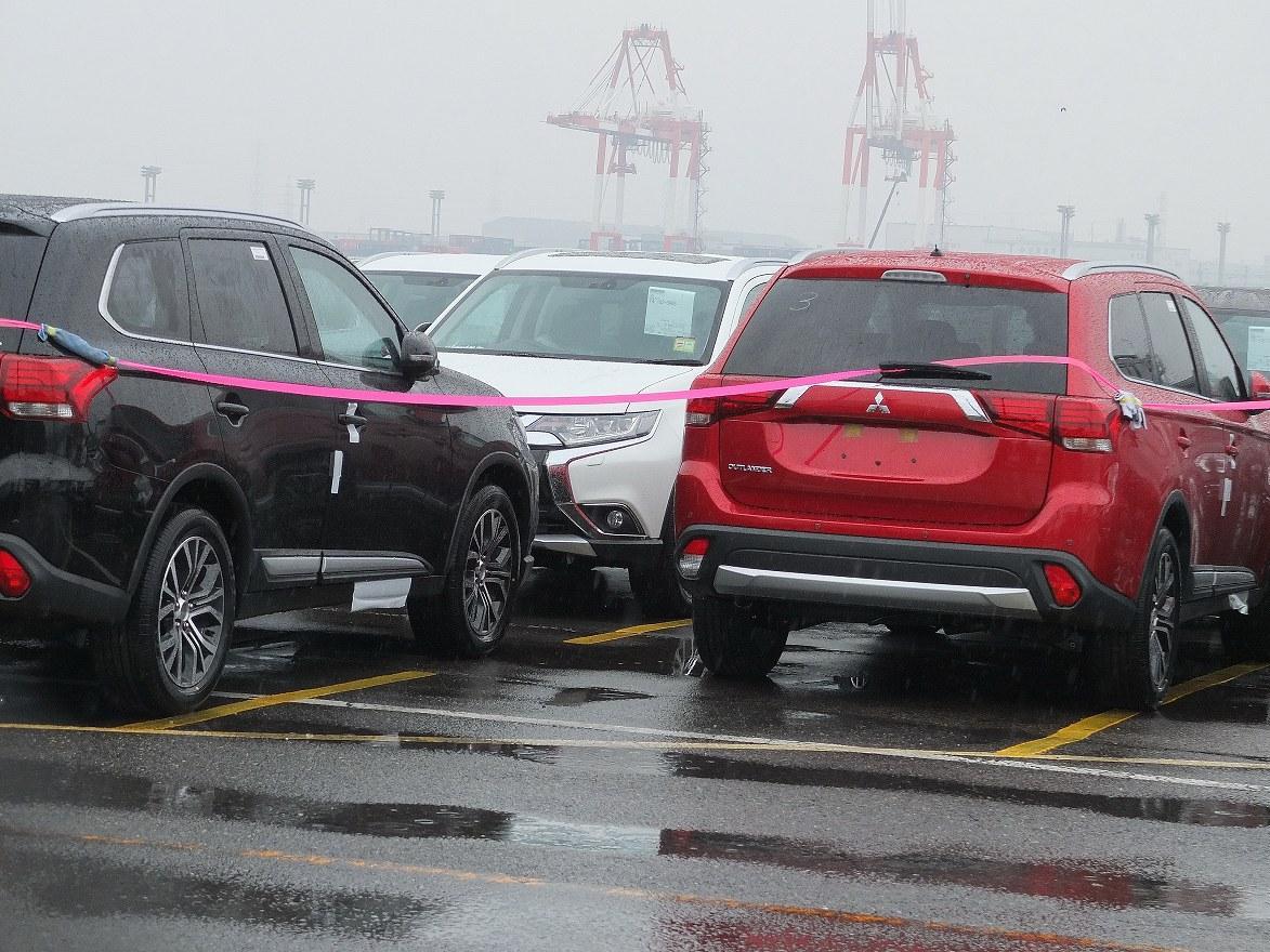 2016 Mitsubishi Outlander facelift