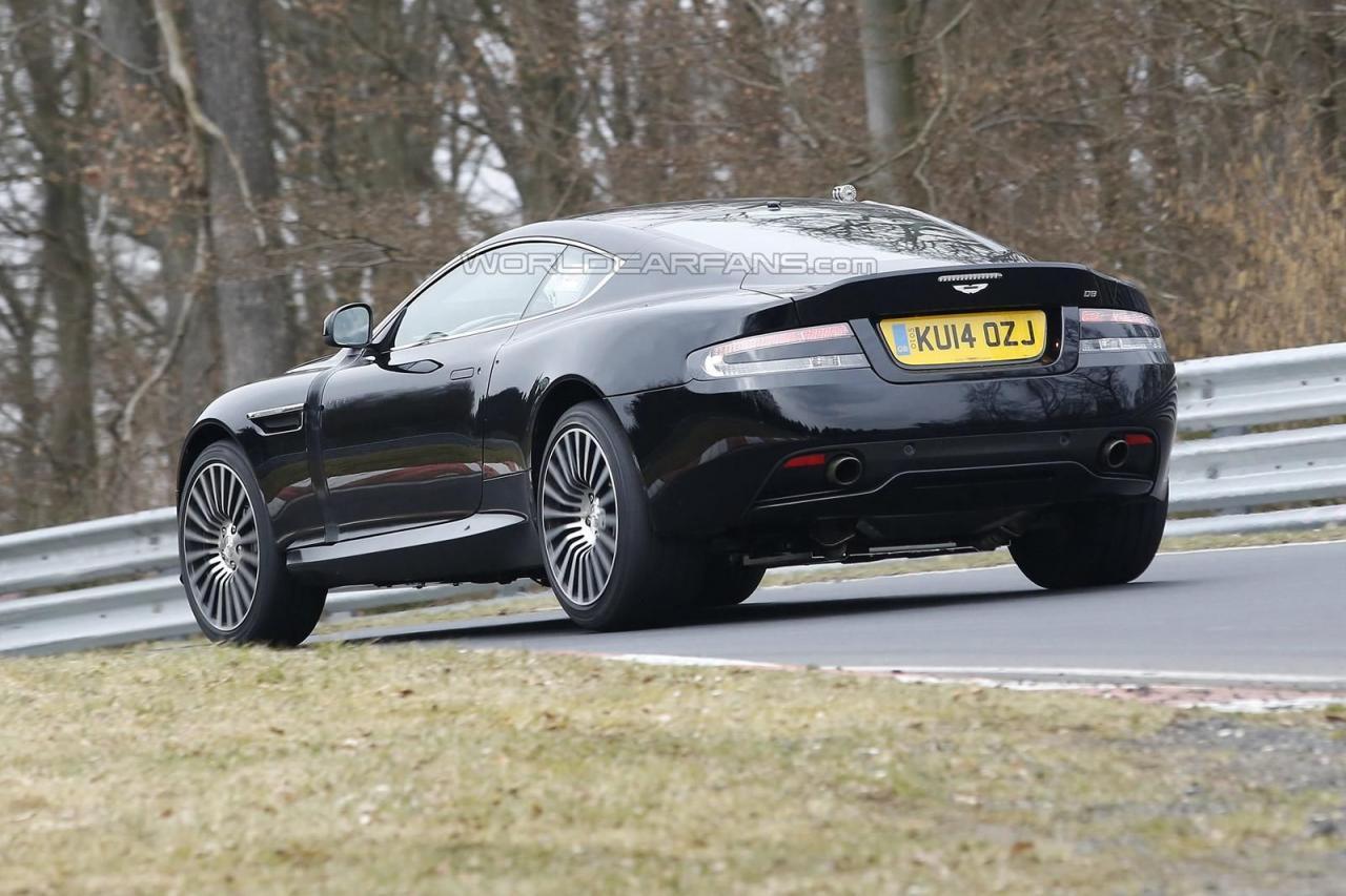 Aston Martin DB9 successor