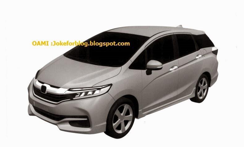 Honda Shuttle patent drawing