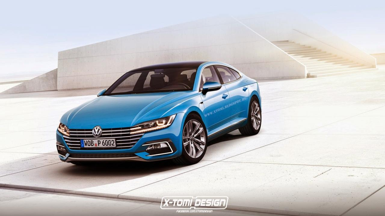 Next–generation Volkswagen CC