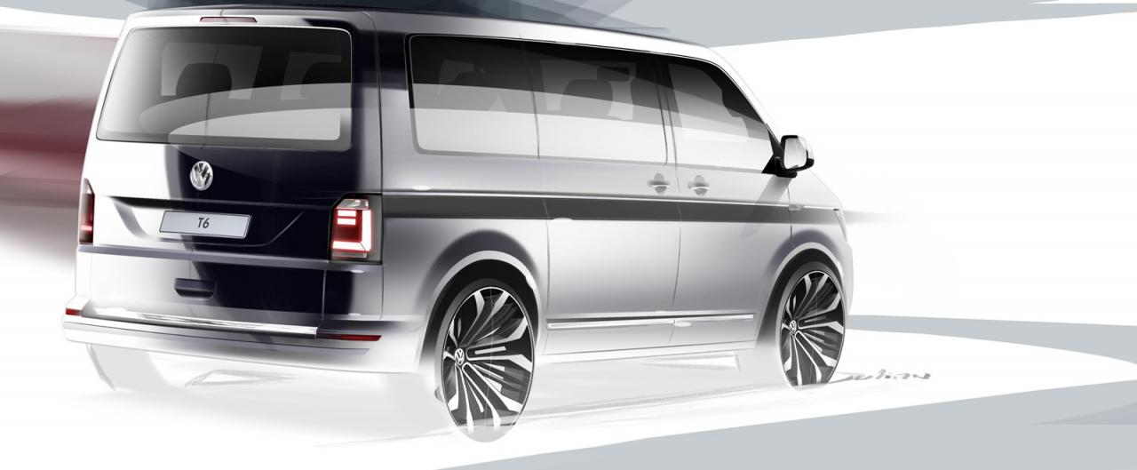 Volkswagen Transporter teaser
