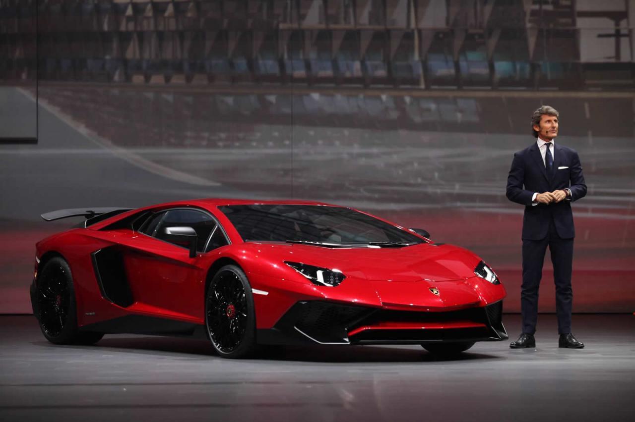 Lamborghini Aventador SV l