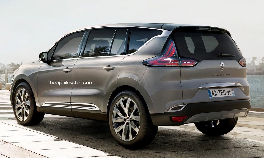 Renault Ondelios rendering