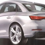 2016 Audi A4 rendering