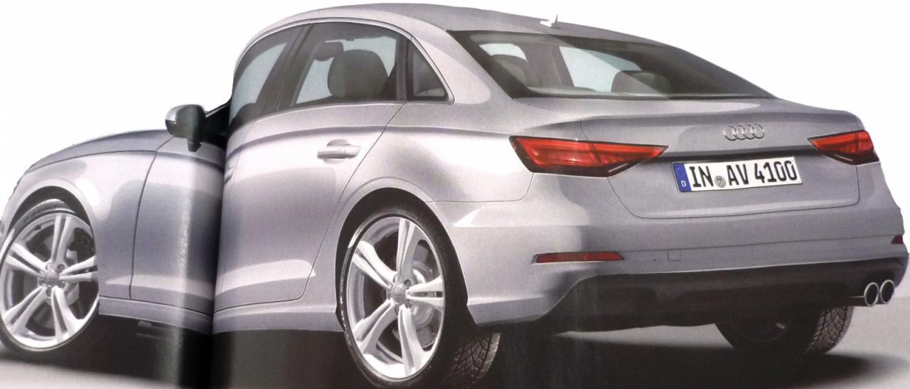 2016 Audi A4 rendering