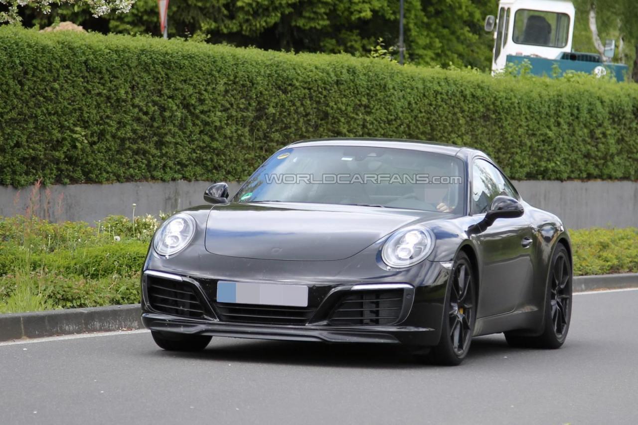 2016 Porsche 911 facelift