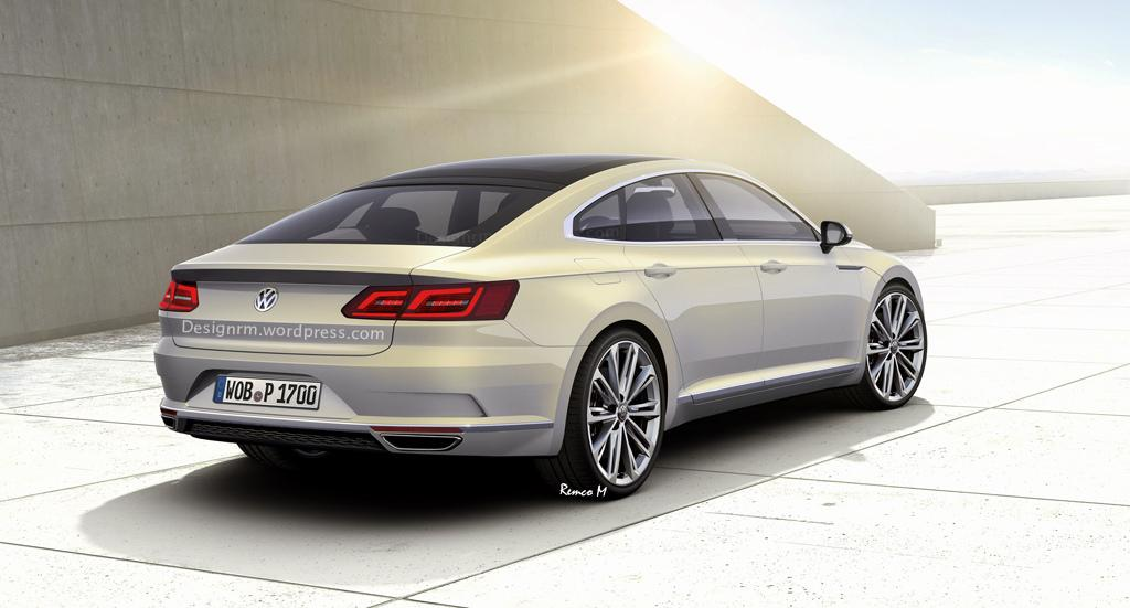2017 Volkswagen CC render