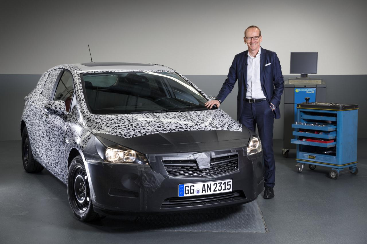 All-new next generation Opel Astra prototype
