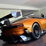 Aston Martin Vulcan with orange paint