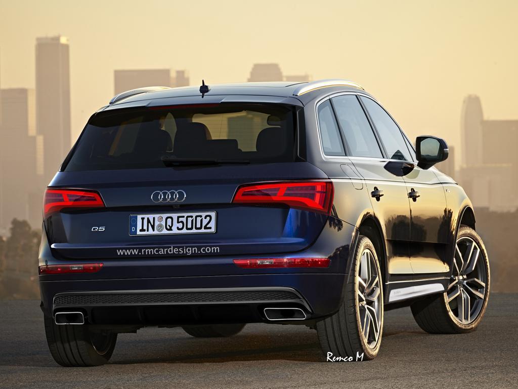 2016 Audi Q5 rendering RM Design