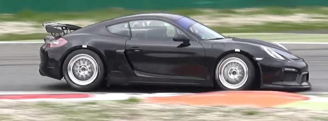 Track-only Porsche Cayman GT4
